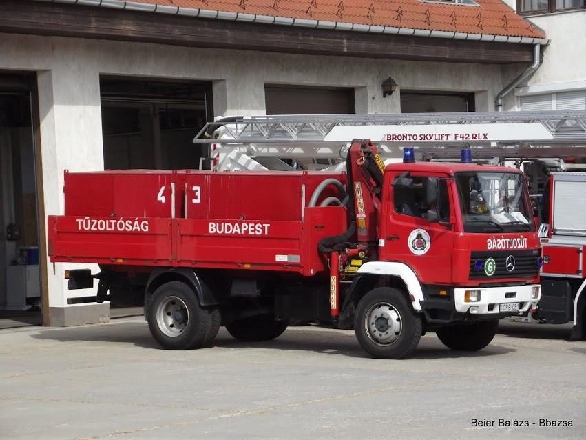 Mercedes 1124 Vegyvédelem