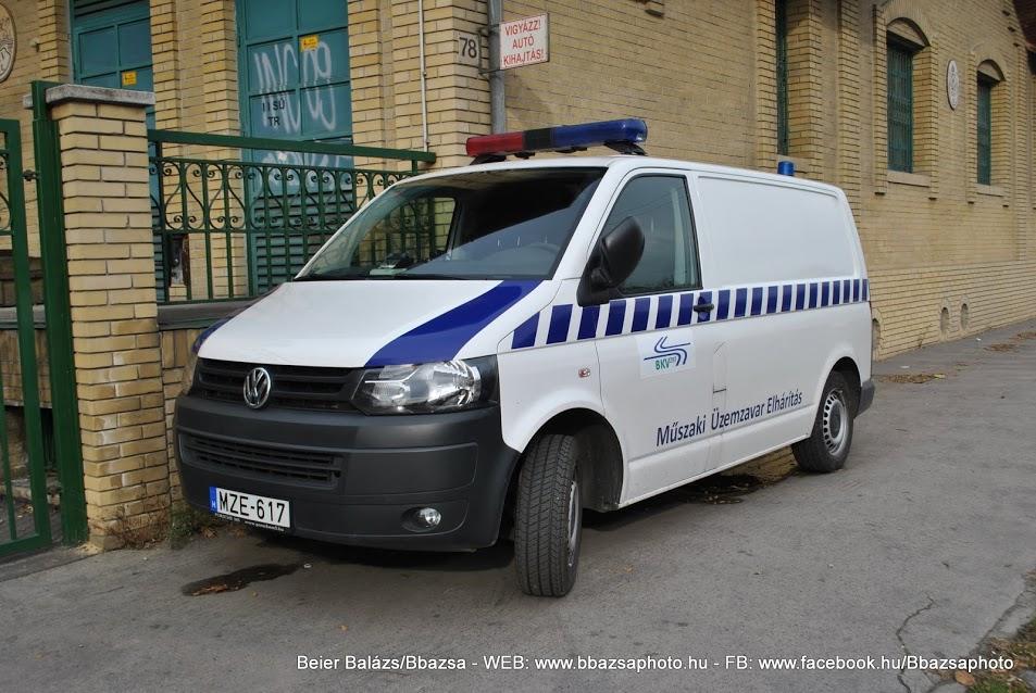 Volkswagen Transporter – BKV új