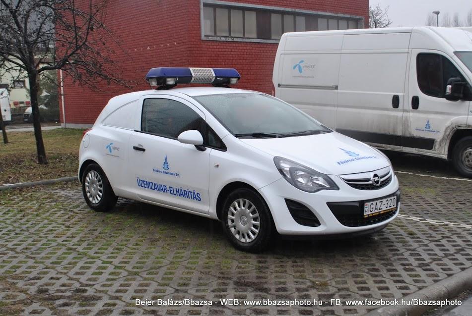 Opel Corsa Van – Gázművek