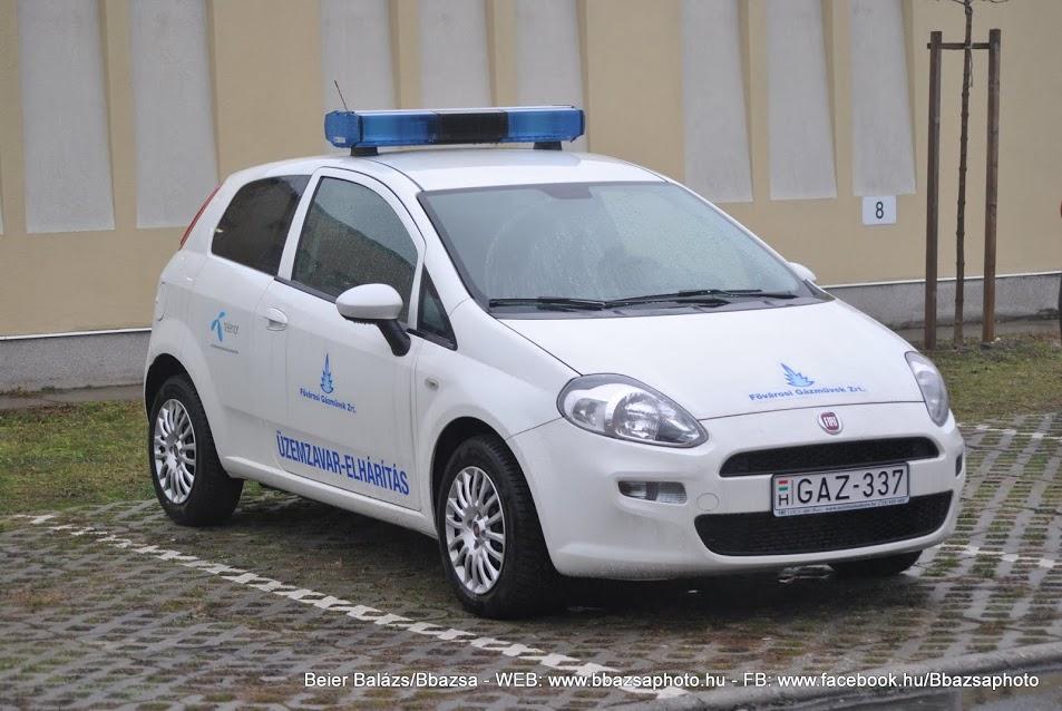 Fiat Punto II  – Gázművek