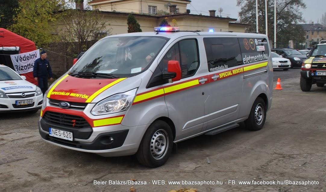 Ford Transit Custom – Speciális mentő
