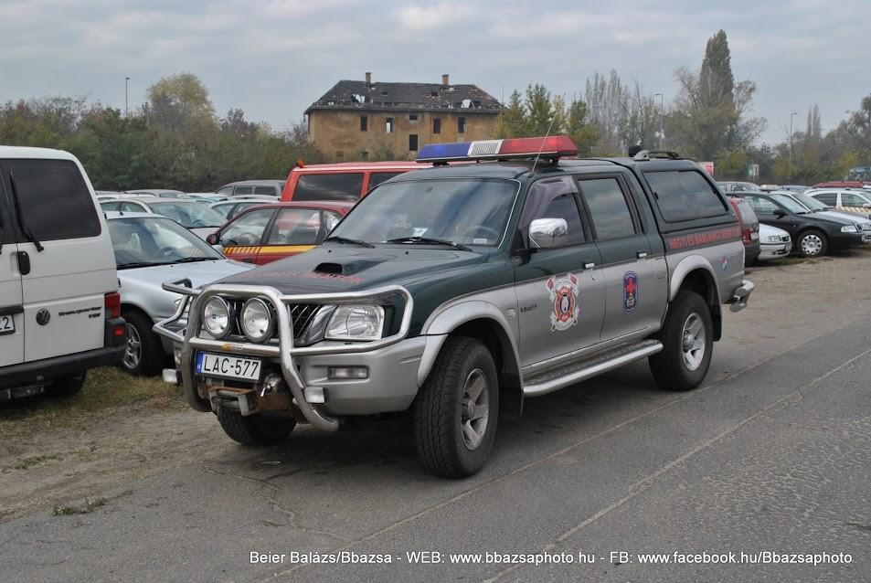 Mitsubishi L200 – Speciális mentő