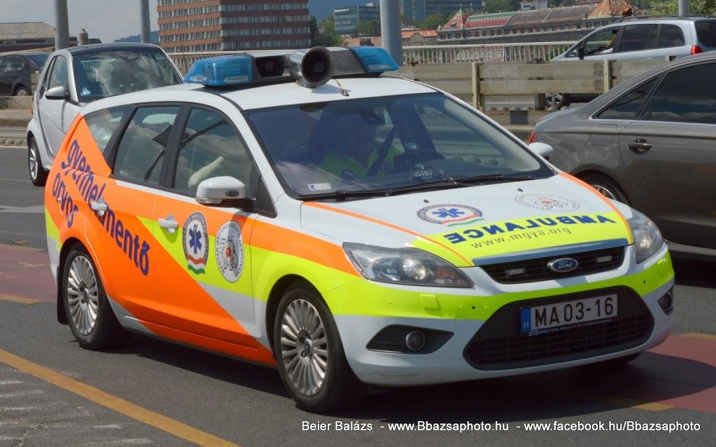 Ford Focus – Magyar Gyermekmentő alapítvány MA03-16