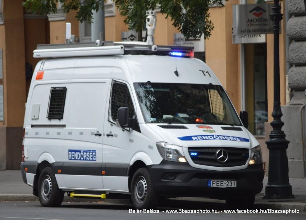 Mercedes Sprinter II 316CDI – Térfigyelő T1-T2