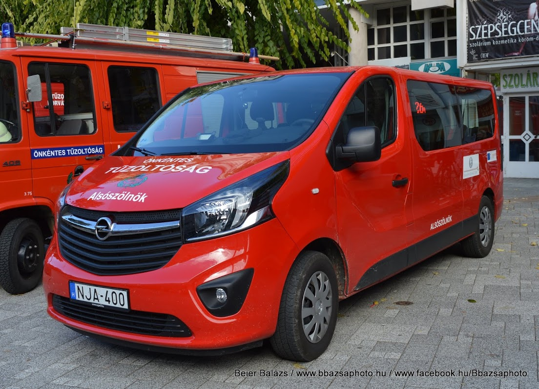 Opel Vivaro – Alsószölnök ÖTE (nem kéklámpás)