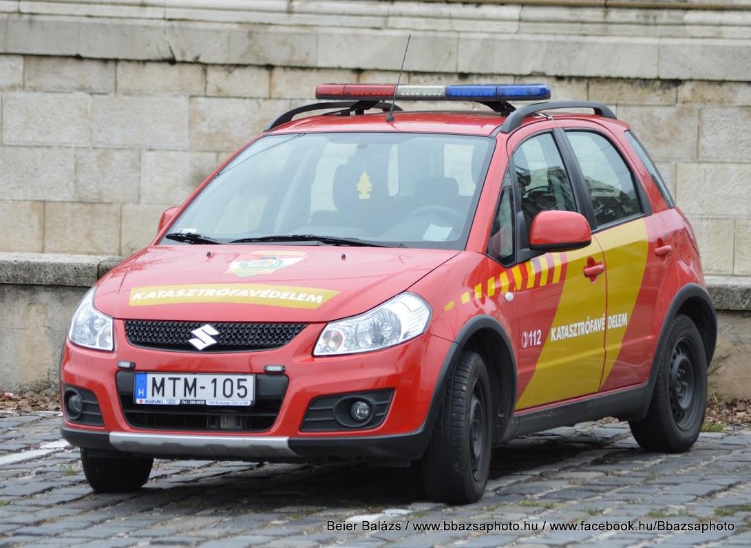 Suzuki SX4 – piros