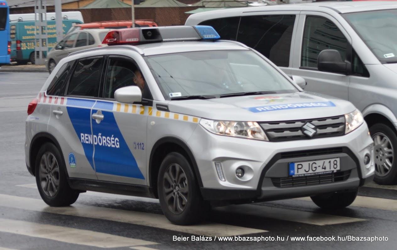 Suzuki Vitara Hella – Készenléti Rendőrség