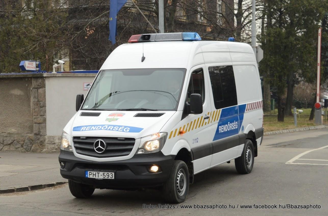 Mercedes Sprinter – Hella (fehér)