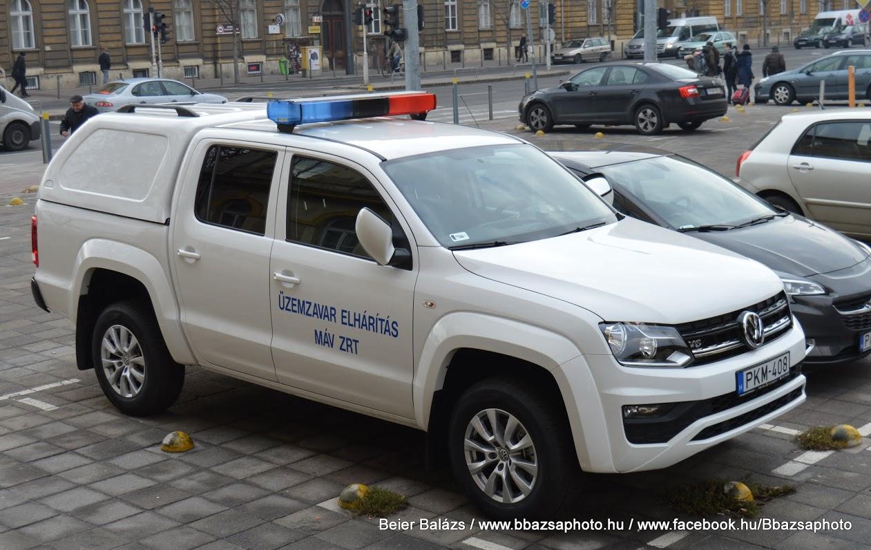 Volkswagen Amarok – MÁV