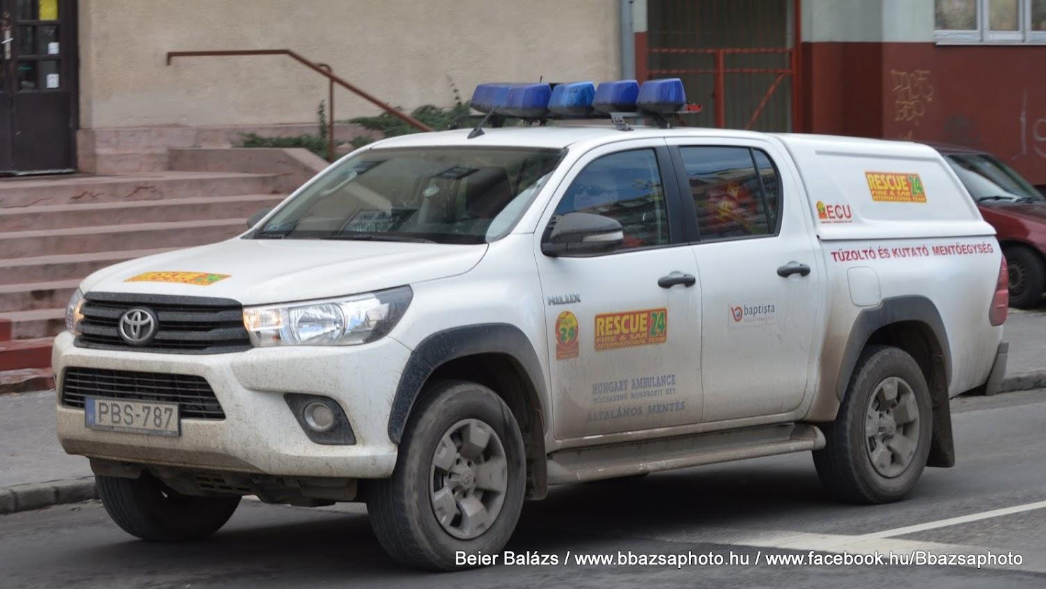 Toyota Hilux – Rescue24