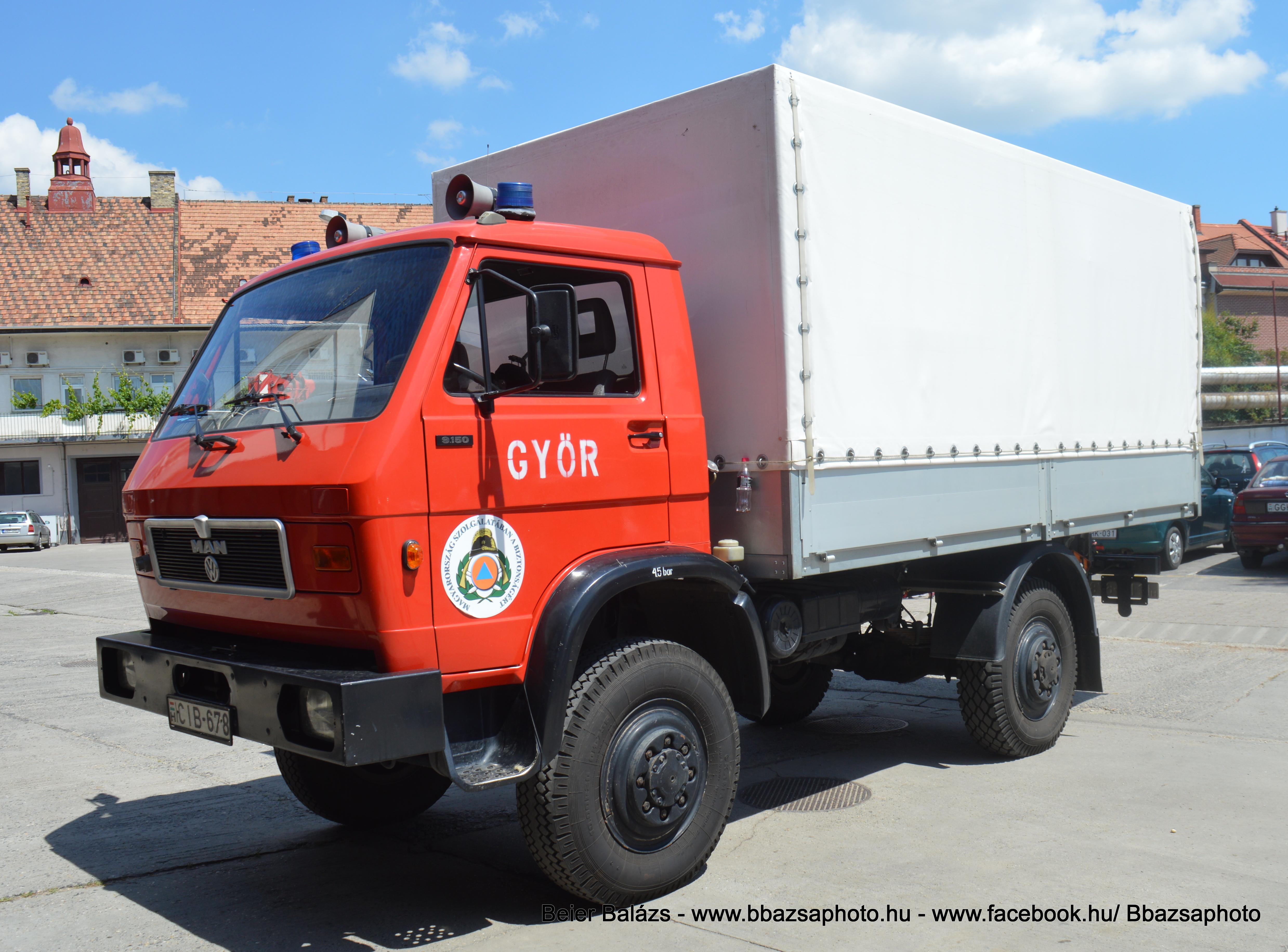 Man VW – Győr K teher