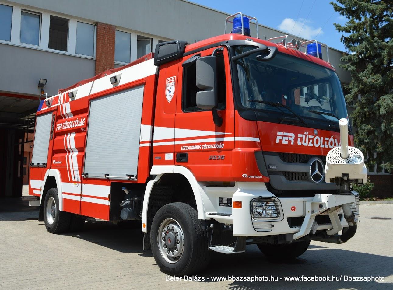 Mercedes Actros 2036 Rosenbauer – FER