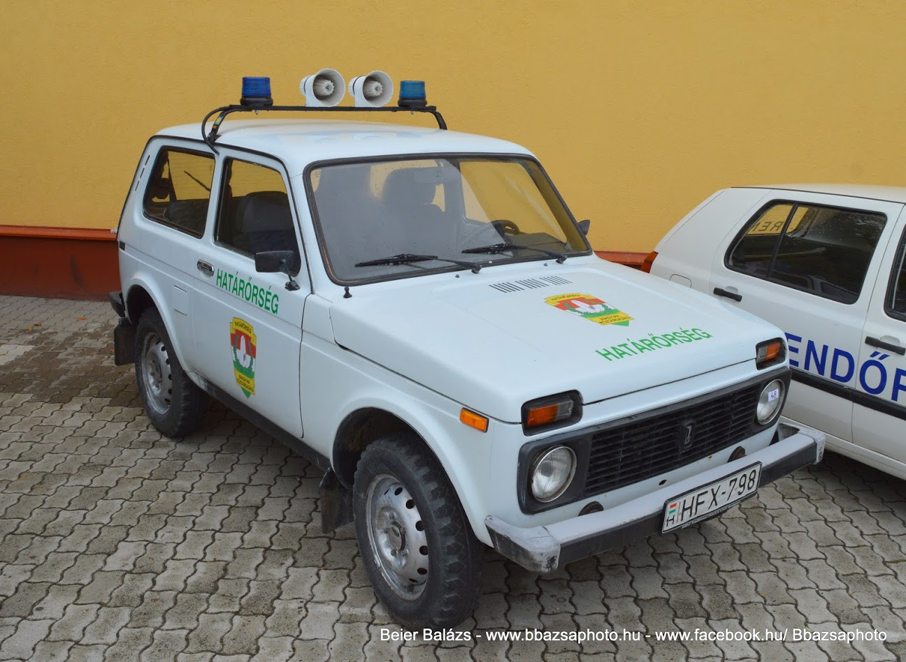 Lada Niva – Határőrség HRSZ