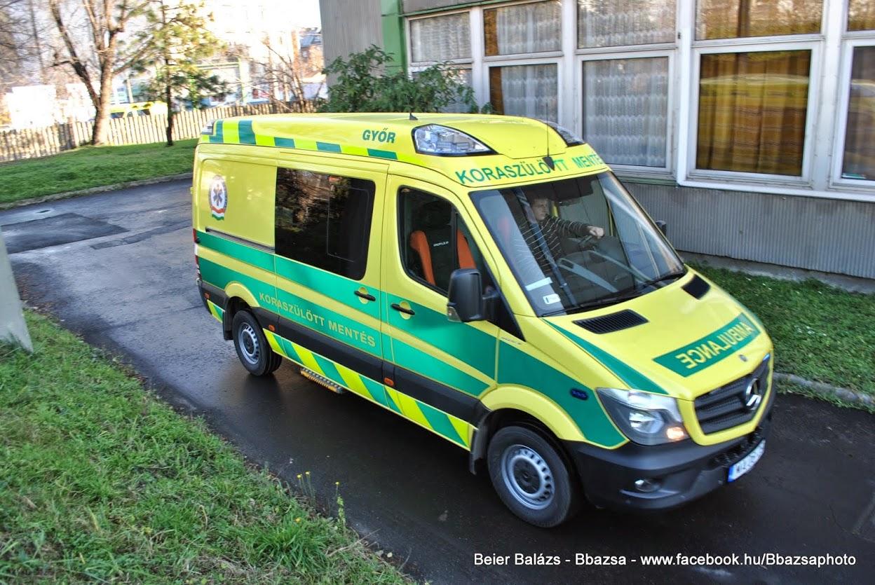 Mercedes Sprinter – Koraszülött mentő Profile