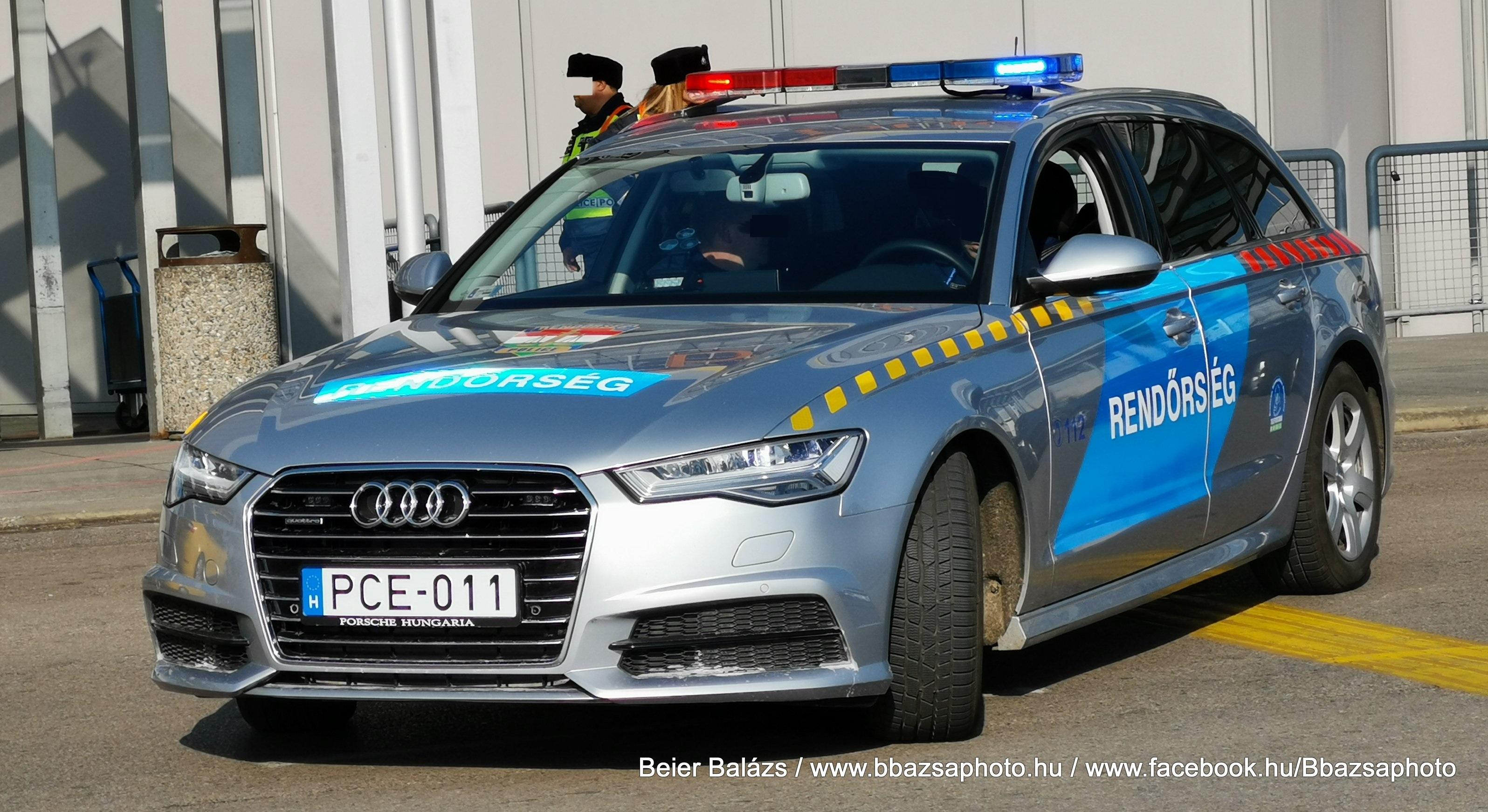 Audi A6 kombi – Készenléti Rendőrség