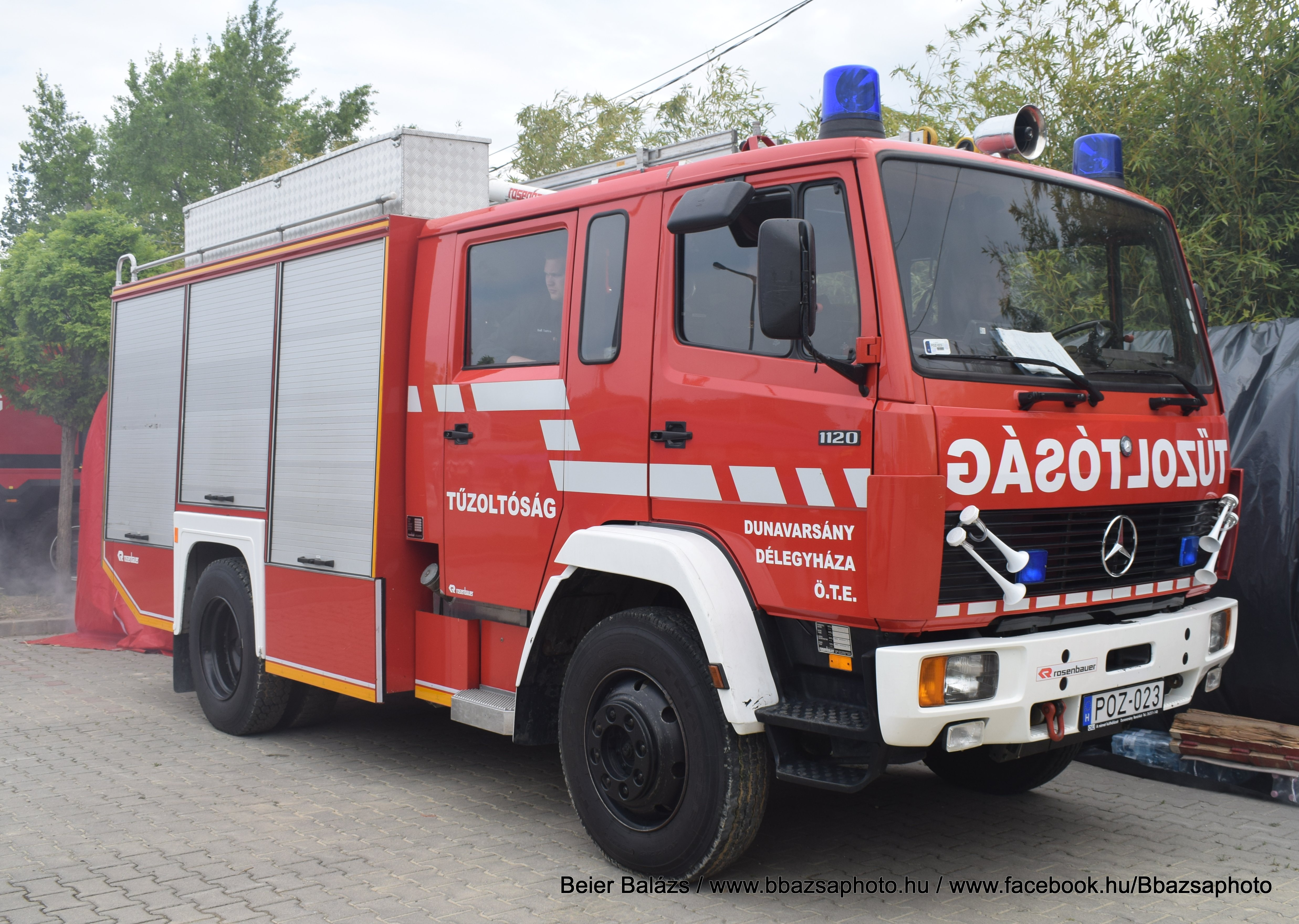 Mercedes 1120 Rosenbauer – Dunavarsány / Délegyháza ÖTE