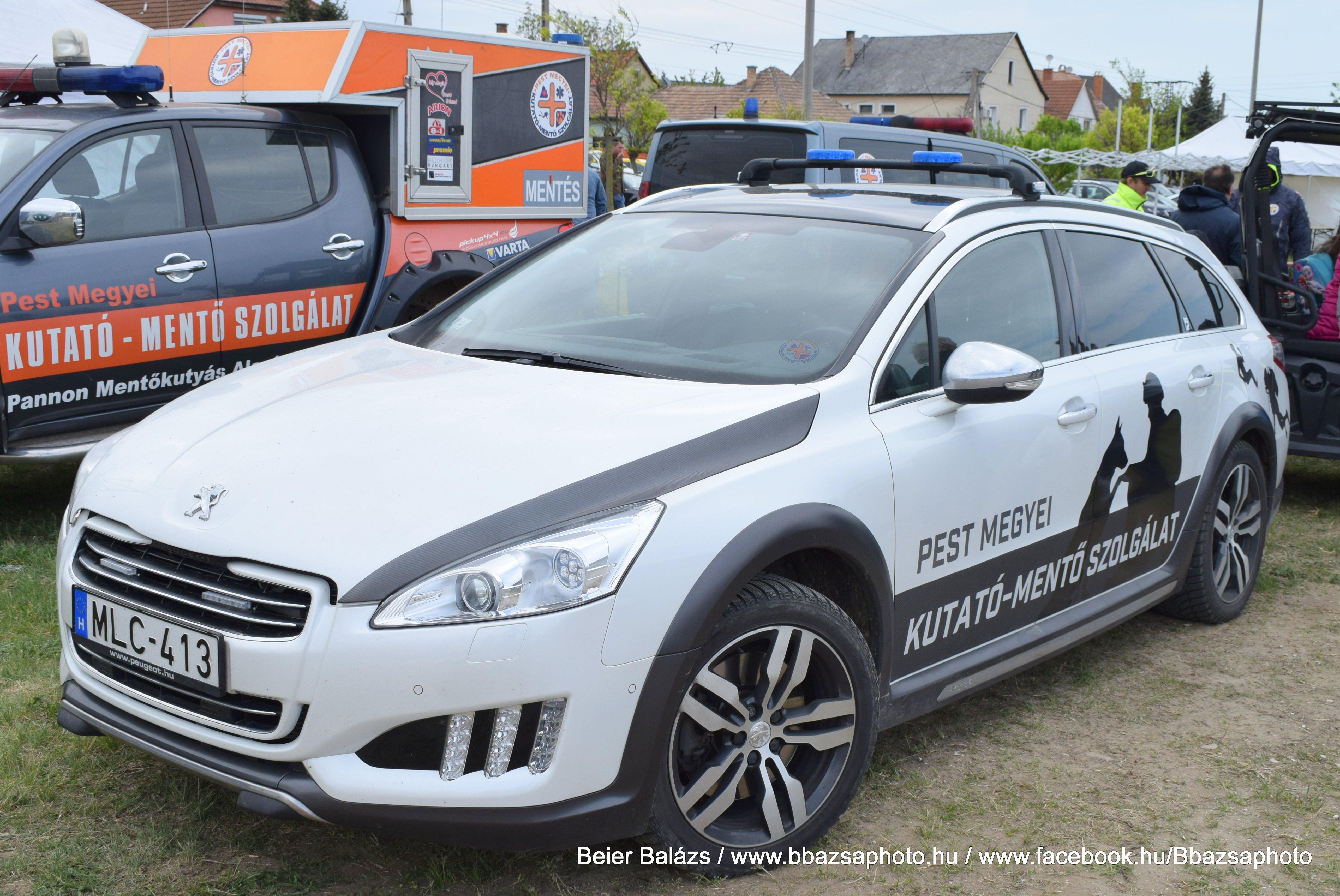 Peugeot 508 RXH – Pest megyei kutató