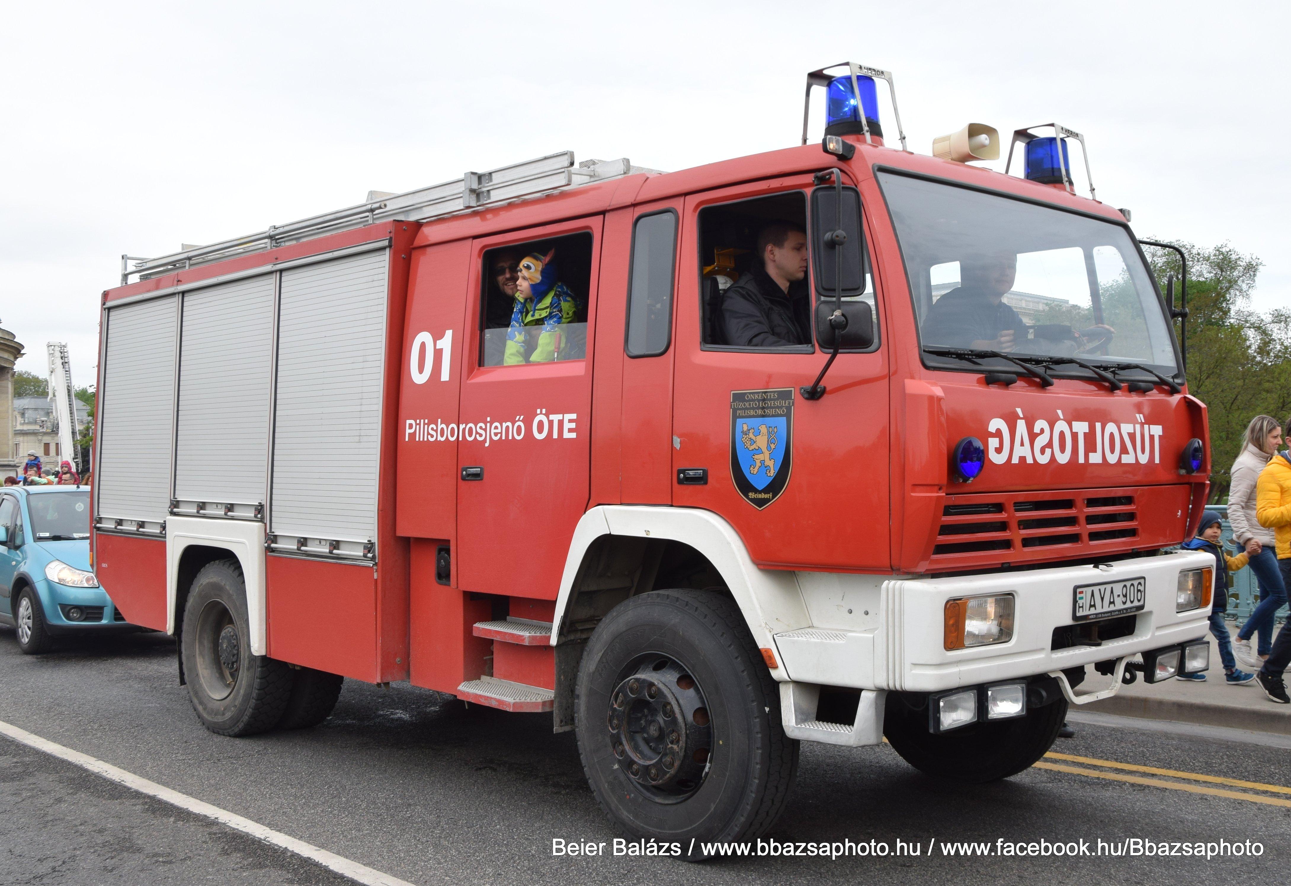 STEYR 16S26 Rosenbauer TLF 4000 – Pilisborosjenő ÖTE 01