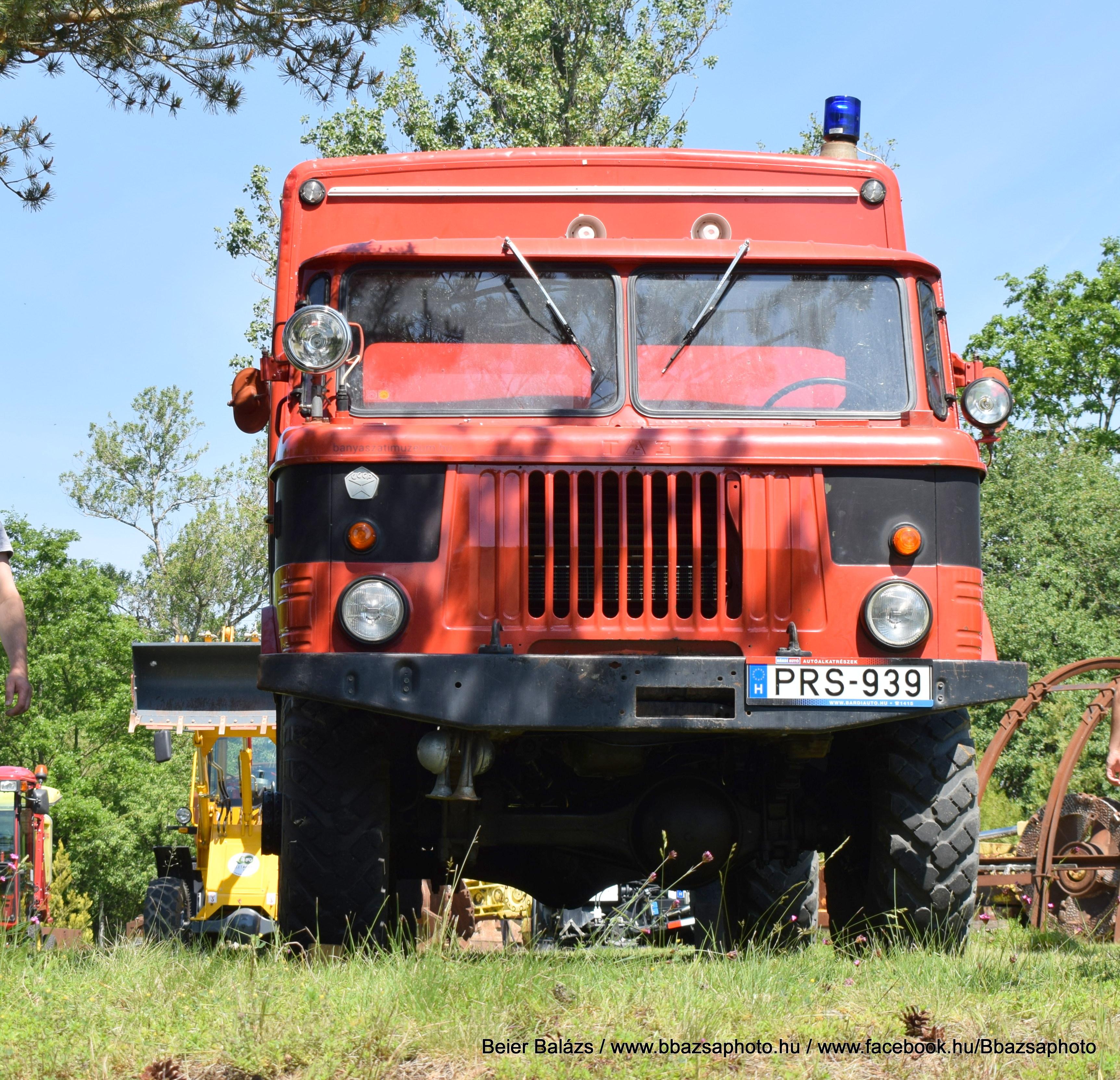 GAZ66 – Bányamentő , múzeumi autó.