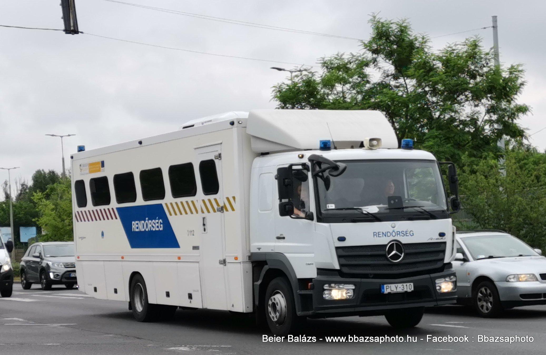 Mercedes Atego 1324 Tornádó – Kényszerszállító