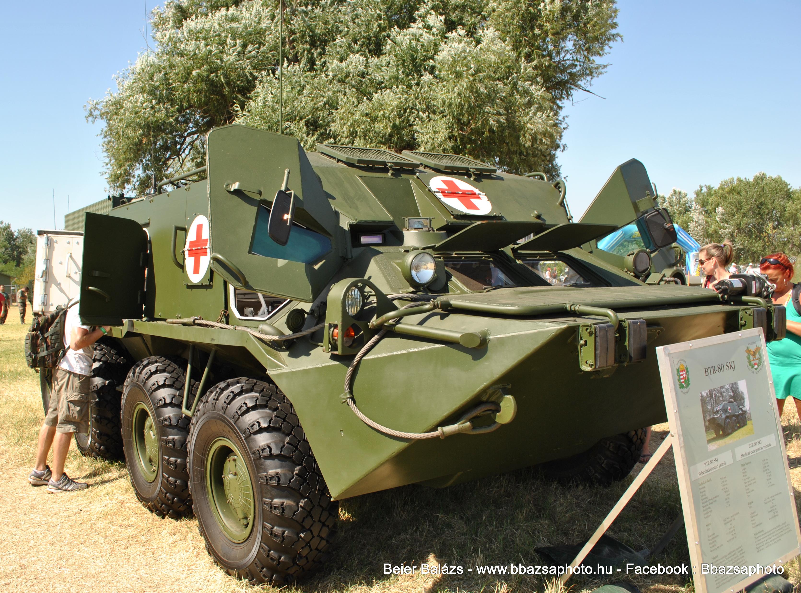 BTR- páncélozott sebesült szállító