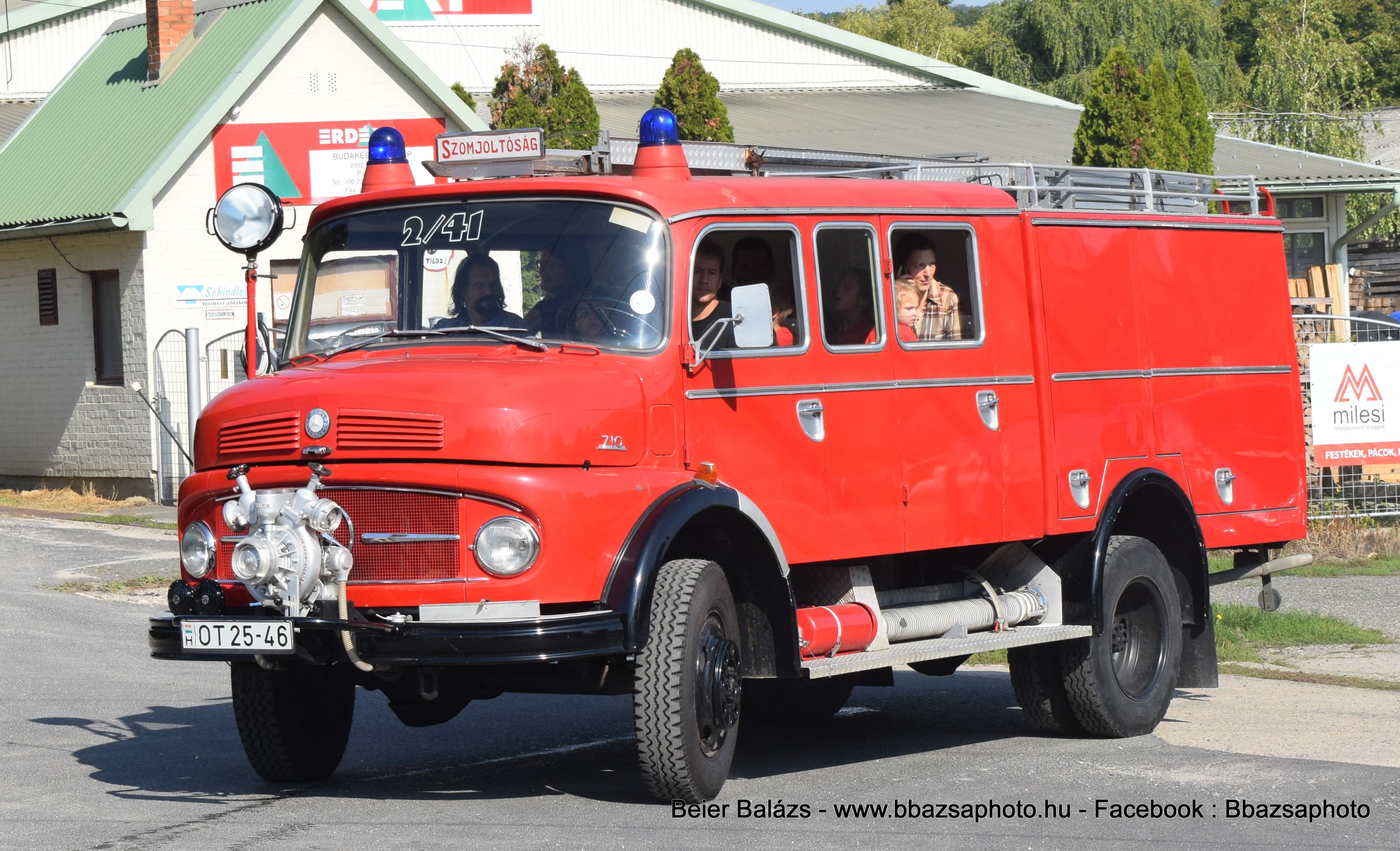 Mercedes 710 – old timer