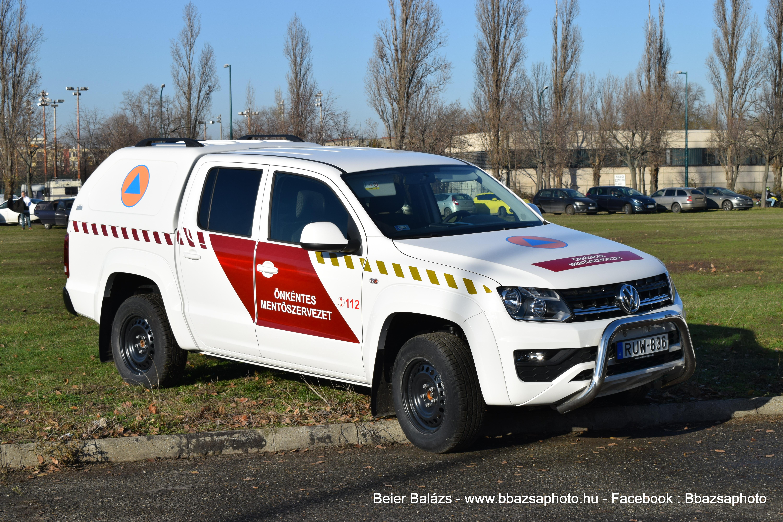 Volkswagen Amarok – Önkéntes mentőszervezet. mkj nélkül