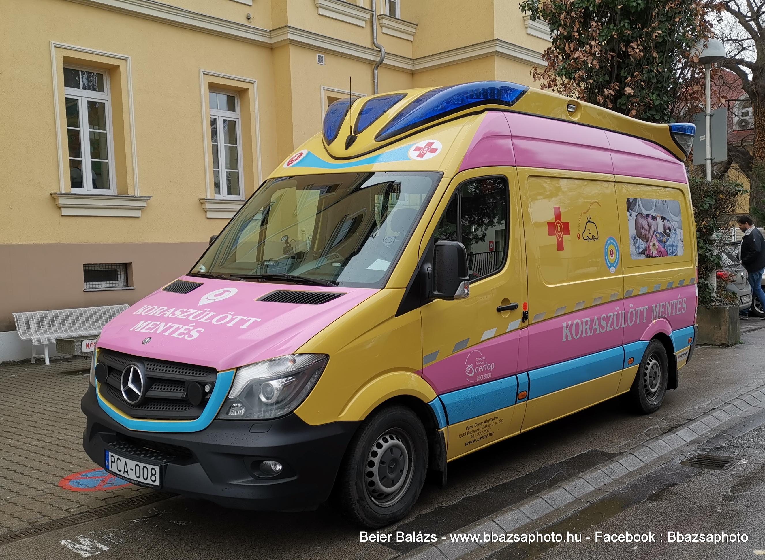 Mercedes Sprinter – Peter Cerny rózsaszín