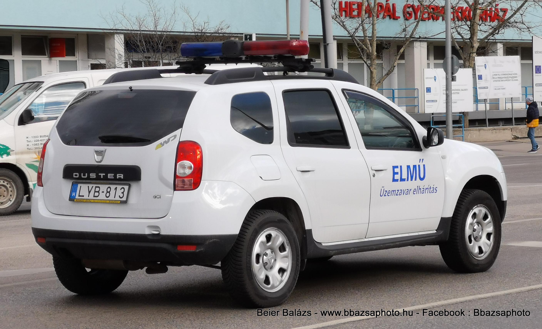 Dacia Duster – ELMŰ