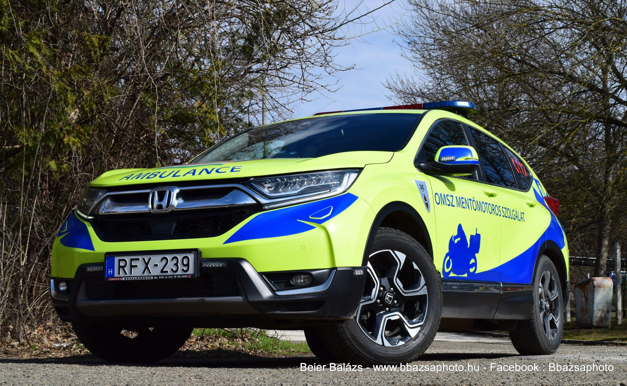 Honda CR-V Mentőmotoros MOK