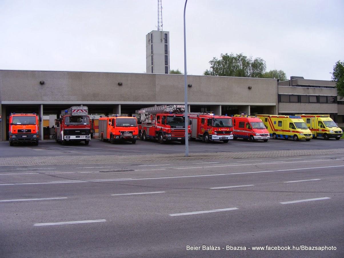 Belgium – Kortrijk Tűzoltóság