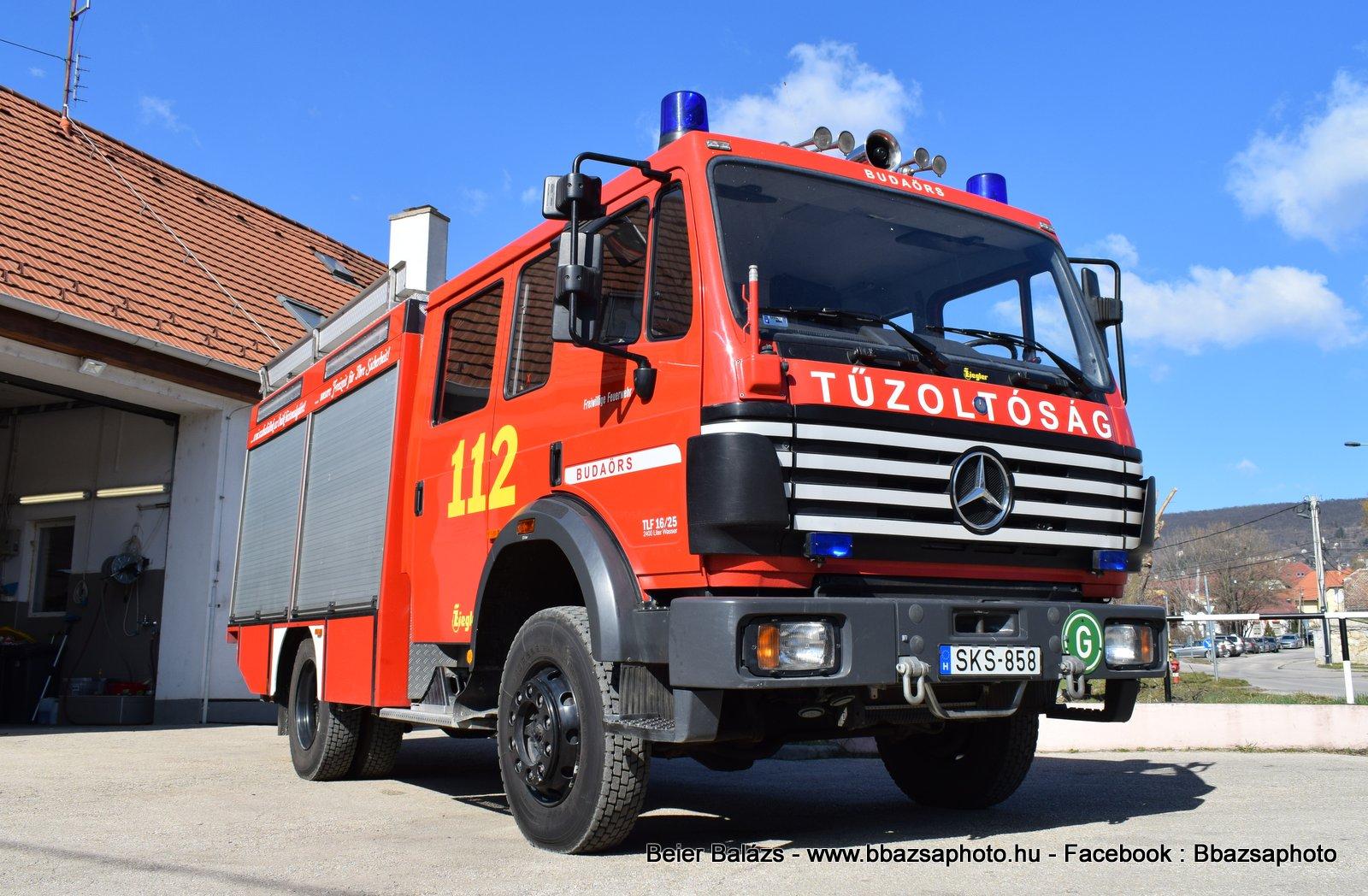 Mercedes 1224 Ziegler – Budaörs ÖTE