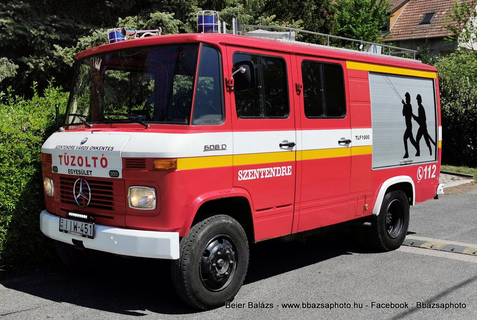 Mercedes 608D – Szentendre ÖTE