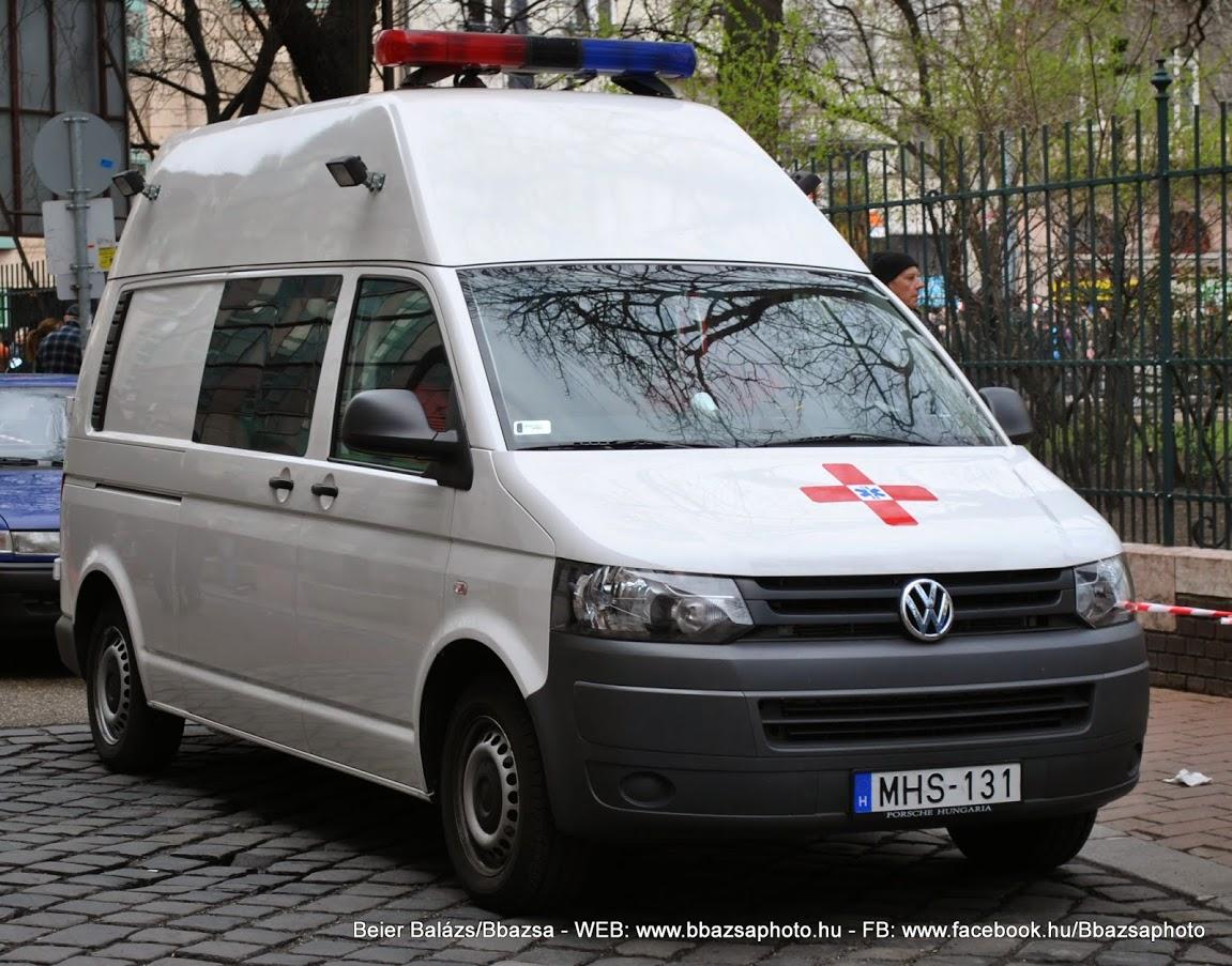 Volkswagen Transporter T5 – Eü szolgálat