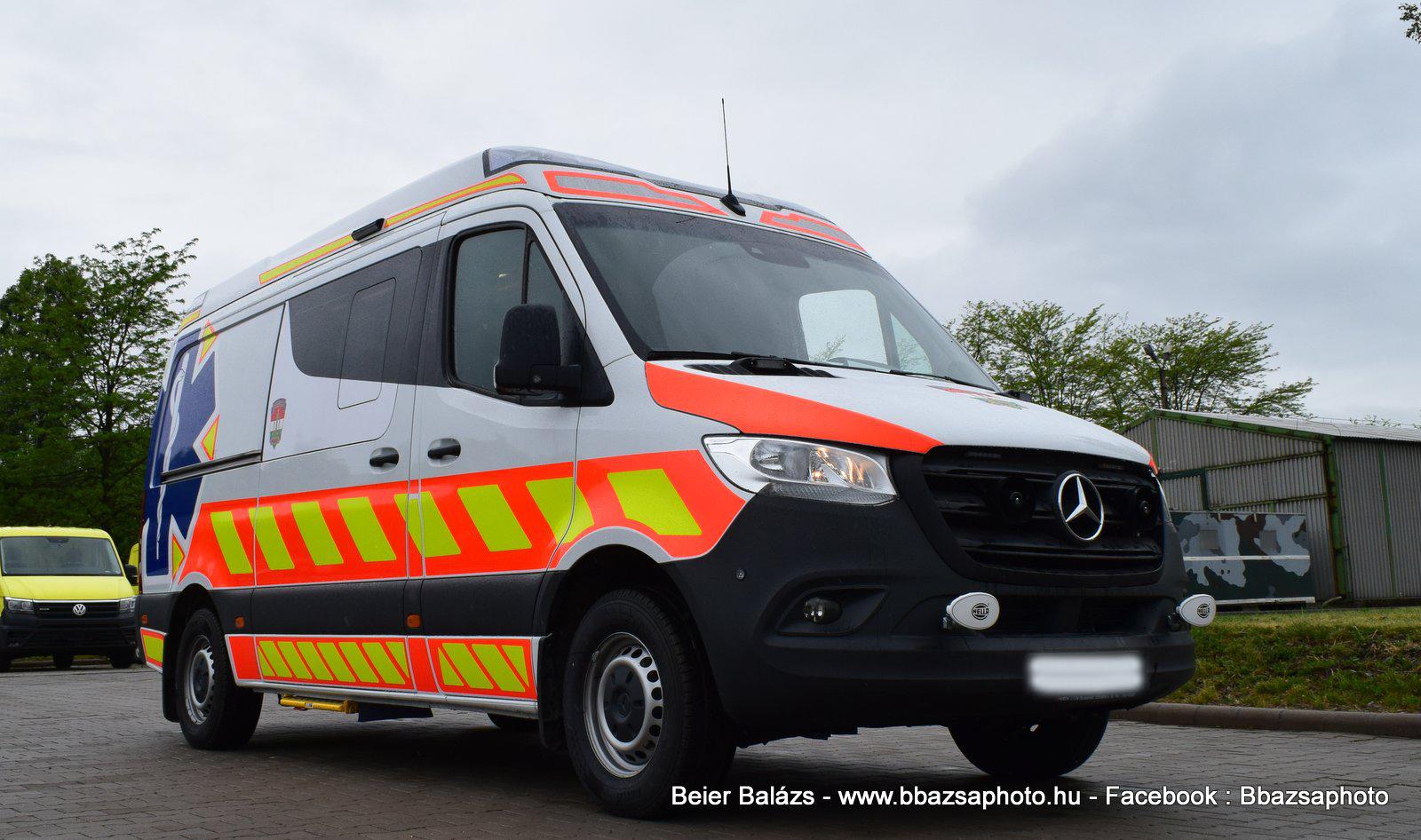 Mercedes Sprinter III Profile  – BRFK EÜ szolgálat