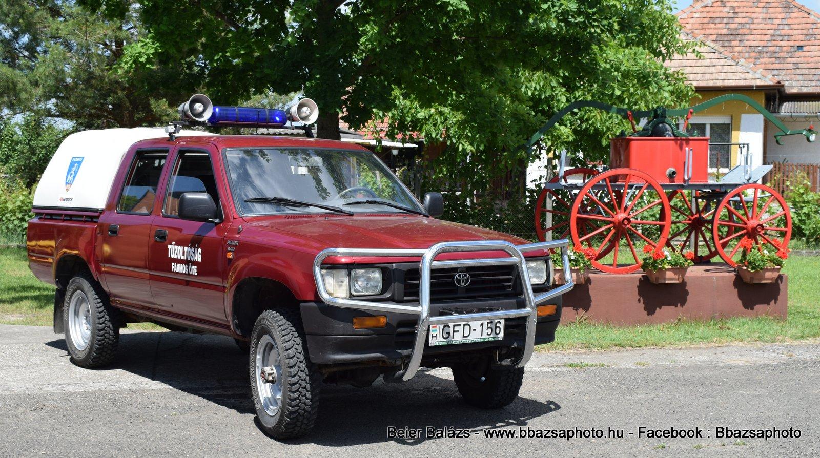 Toyota Hilux 2.4D – Farmos ÖTE