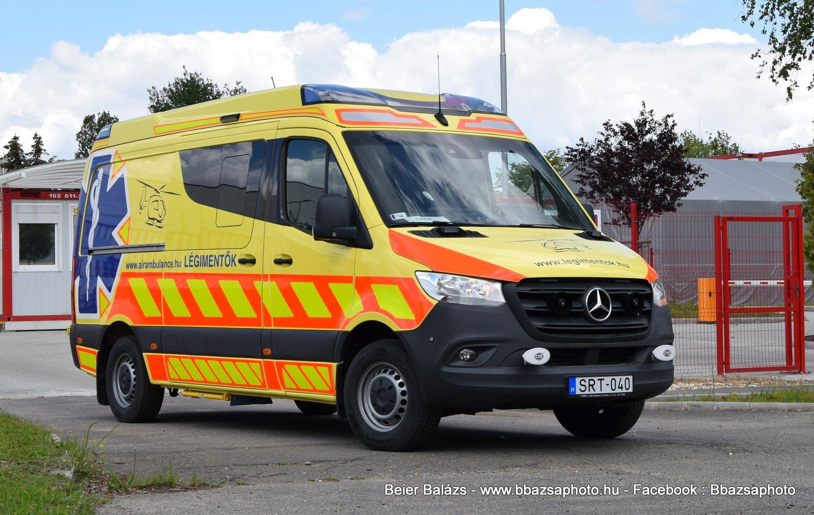 Mercedes Sprinter III Profile – Légimentők