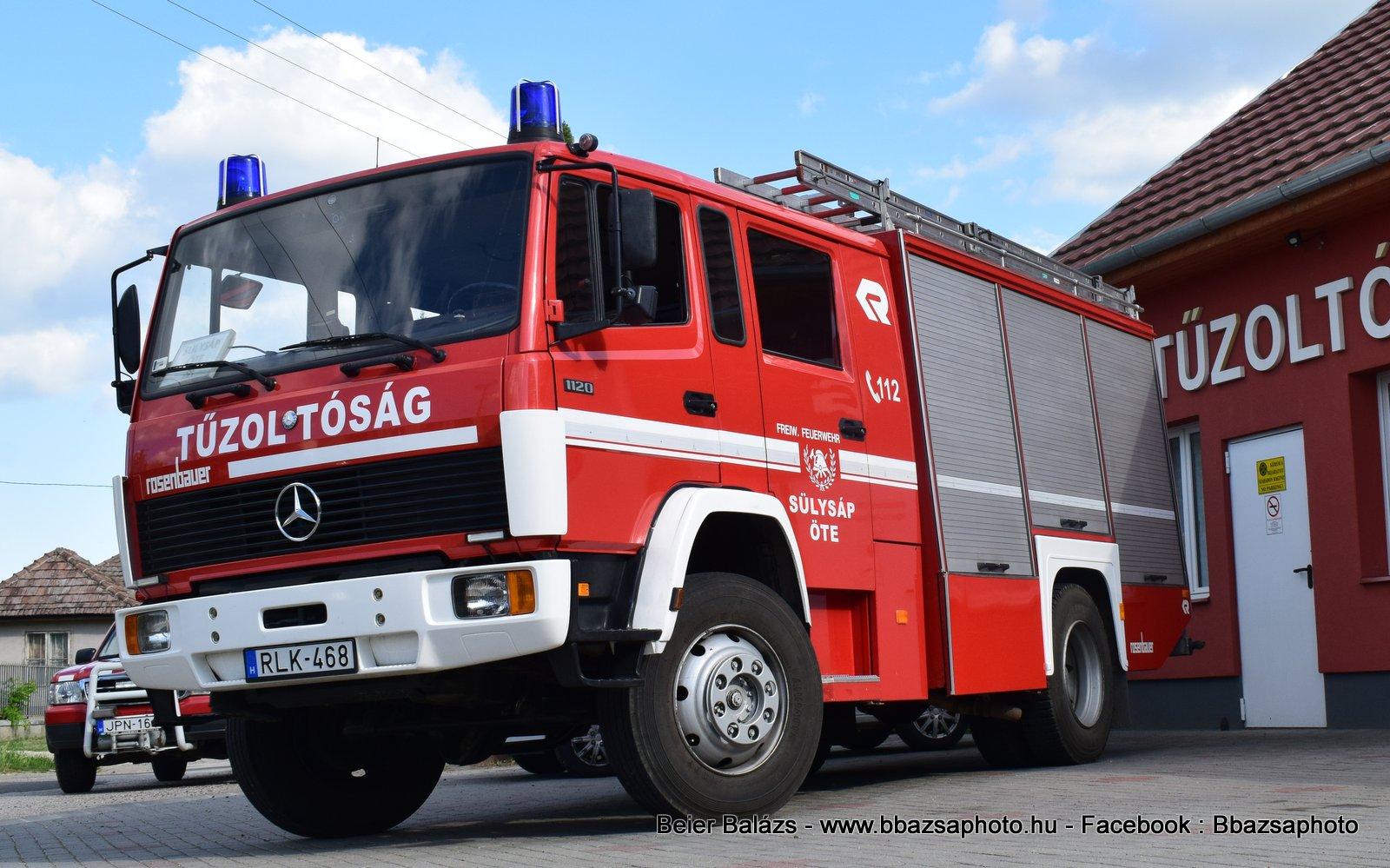 Mercedes 1120 Rosenbauer Herkules – Sülysáp ÖTE
