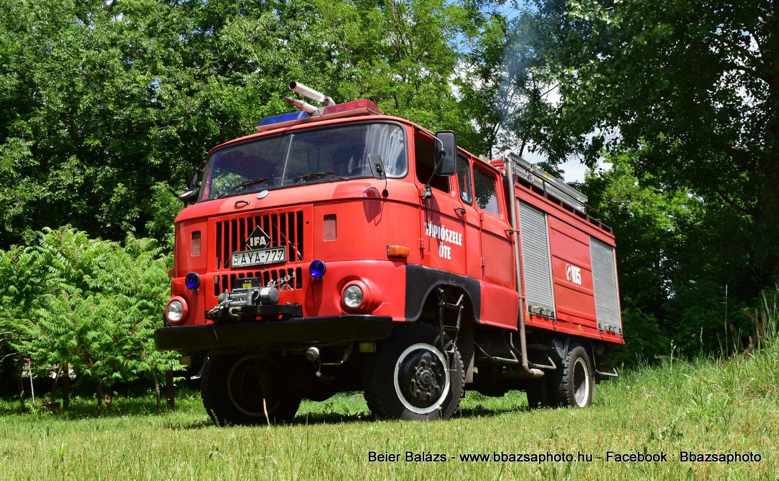 IFA W50 – Tápiószele ÖTE