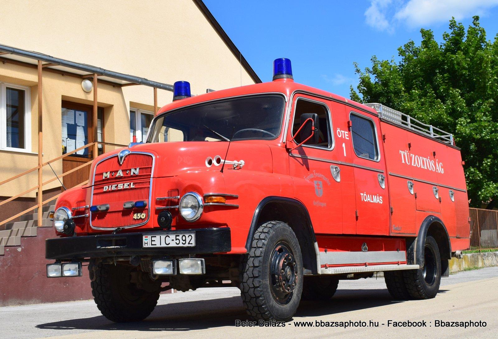MAN Diesel 450 Bochert  – Tóalmás ÖTE