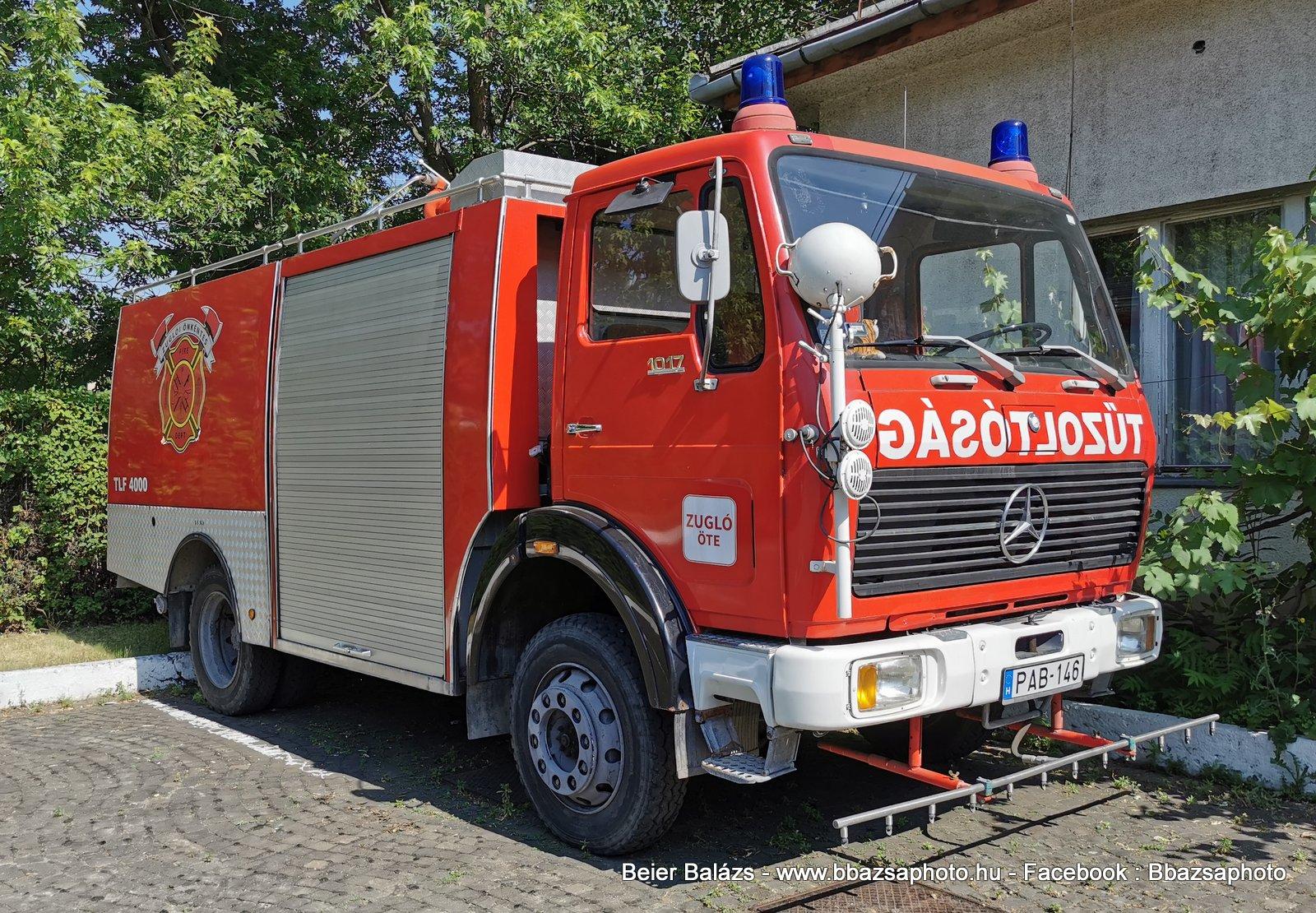 Mercedes 1017 – Zugló ÖTE