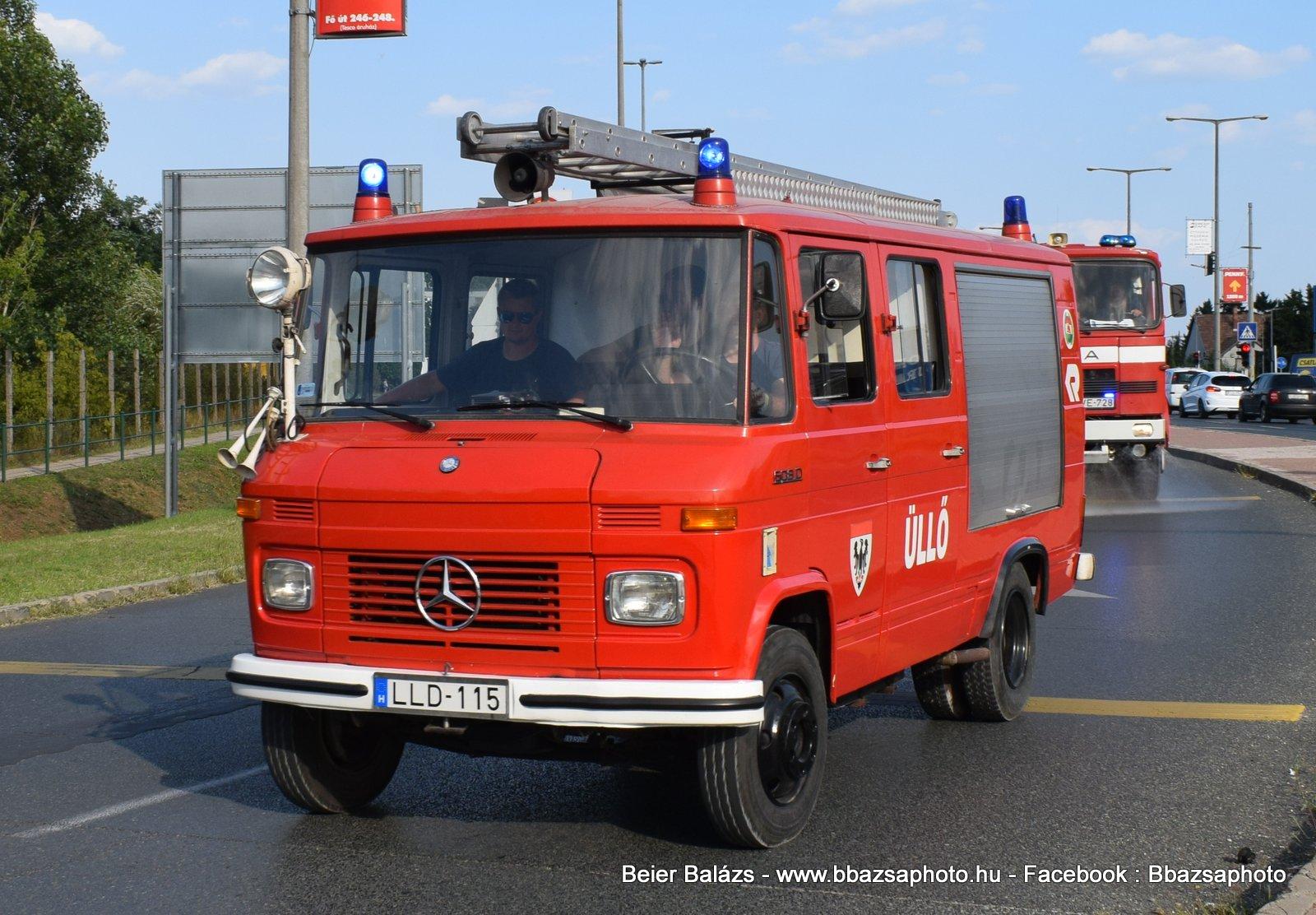 Mercedes 608D – Üllő ÖTE