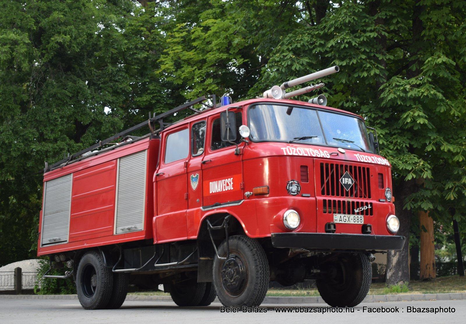 IFA W50 – Dunavecse ÖTE