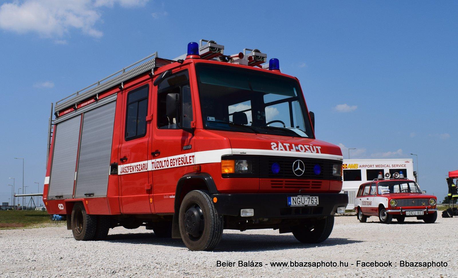Mercedes 811D Rosenbauer – Jászfényszaru ÖTE