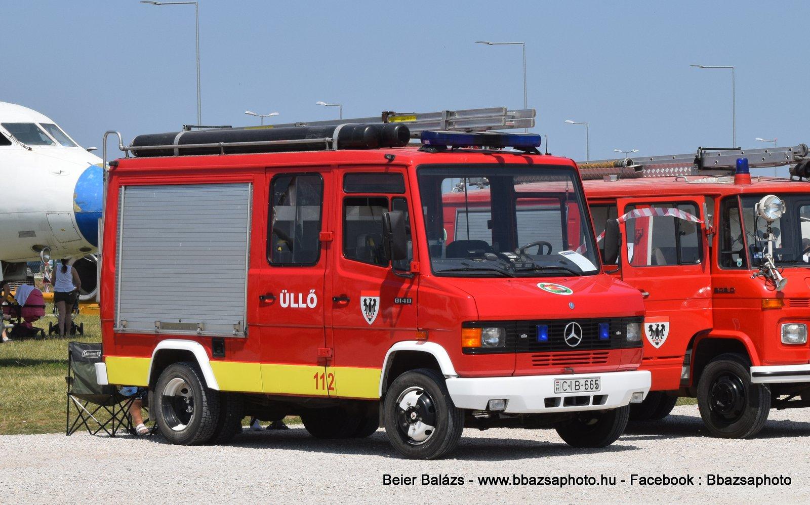 Mercedes 814D Rosenbauer1000- Üllő ÖTE